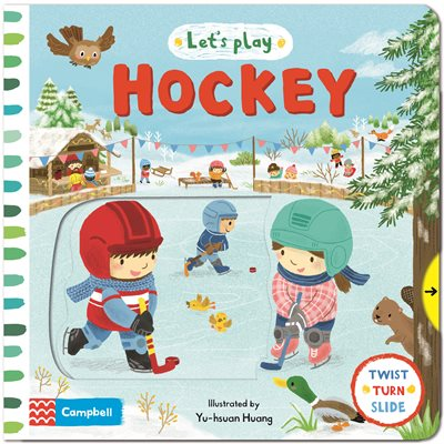 Book cover for Let's Play... Hockey!